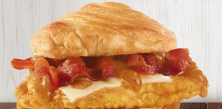 Wendy's Bacon Maple Chicken Sandwich