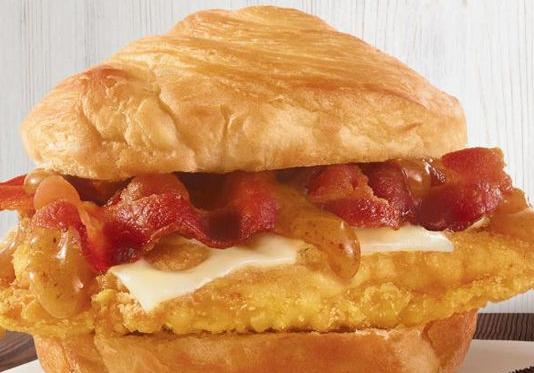 Wendy's Bacon Maple Chicken Sandwich