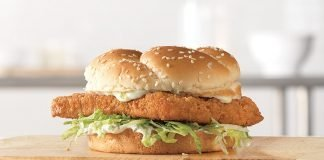 Arby's New Crispy Fish Sandwich