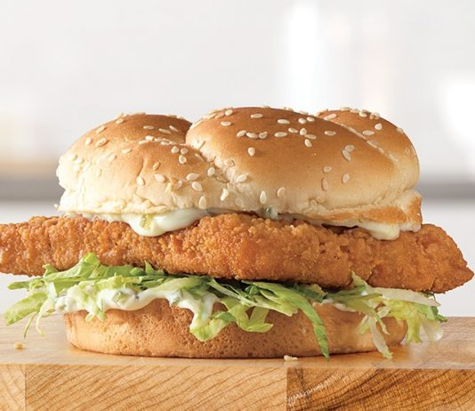 Arby's New Crispy Fish Sandwich
