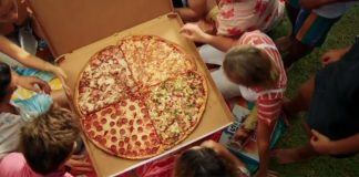 The BIG ONE Domino's Biggest Pizza Ever