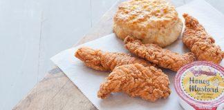 Bojangles' new 4 piece chicken supremes snack
