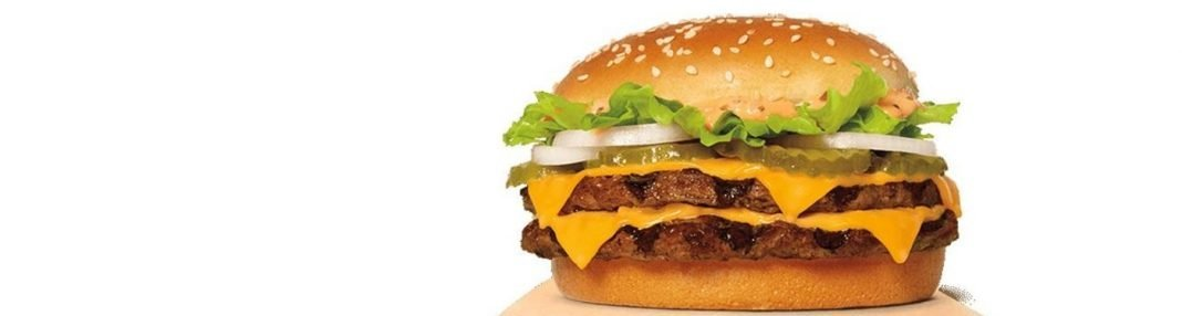 Burger King new King XL item