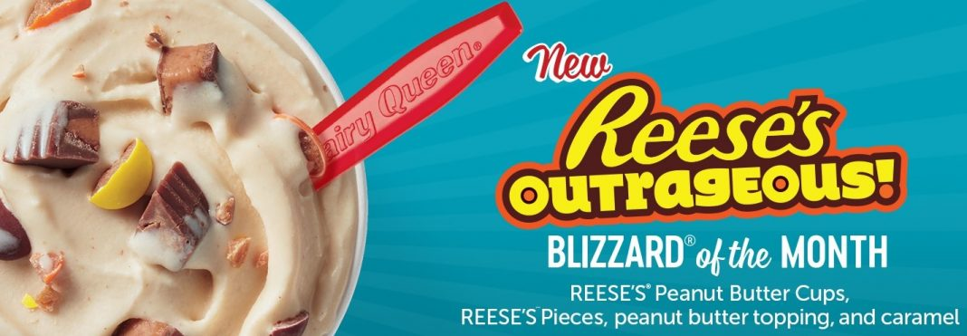 Dairy Queen new Reese's Outrageous Blizzard treat