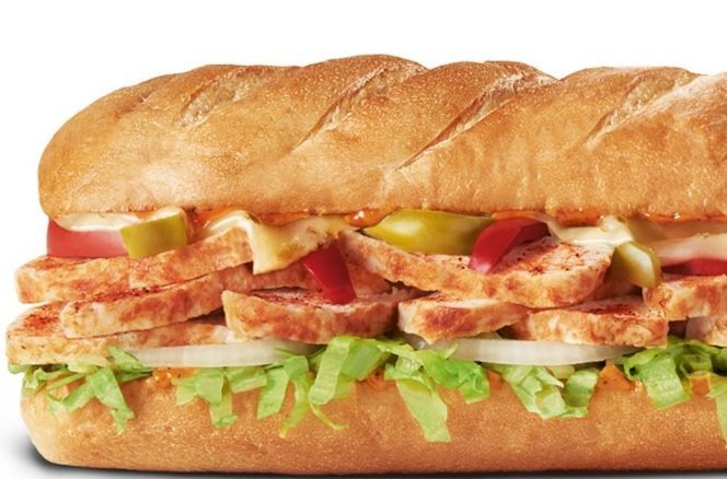 Firehouse Subs Spicy Cajun Chicken Sub