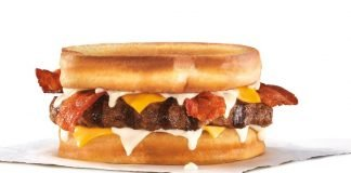 Grilled Cheese Bacon Thickburger