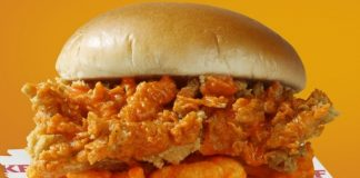KFC New Cheetos Chicken Sandwich