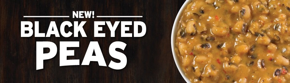 Popeyes New Black Eyed Peas