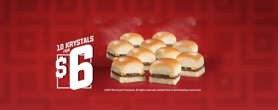 10 Krystals for $6 deal