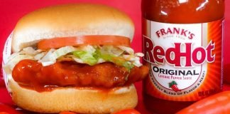 Fatburger new lto Frank's RedHot Buffalo Chicken Sandwich