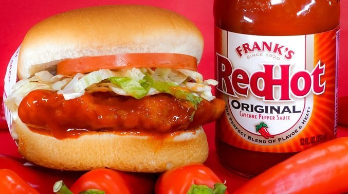 Fatburger new lto Frank's RedHot Buffalo Chicken Sandwich