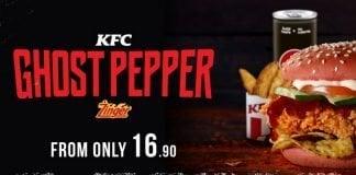 KFC new Ghost Pepper Zinger