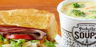 Potbelly new pick your pair menu