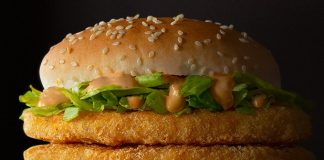 Spicy Double McChicken McDonald's new sandwich