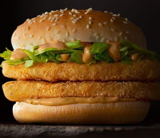 Spicy Double McChicken McDonald's new sandwich