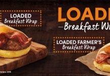 Tim Hortons new Loaded Farmer's Breakfast Wrap