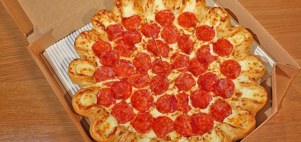 Ultimate Cheesy Crust Pizza from Pizza Hut
