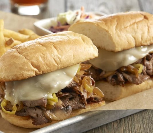 BJ's new Brewhouse Philly sandwich