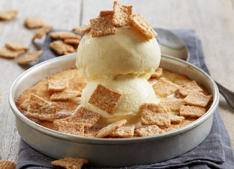 BJ's new Cinnamon Toast Crunch Cereal Pizookie