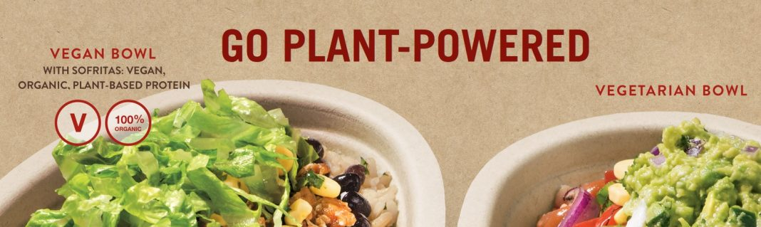 Chipotle new plant powered vegan and vegetarian bowls