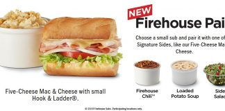 Firehouse Subs new Firehouse Pairs