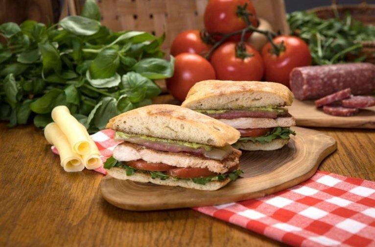 Habit Burger new chargrilled Italian Chicken Ciabatta Sandwich