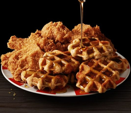 KFC Kentucky Fried Chicken and Waffles are back
