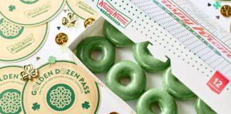 Krispy Kreme Green O'riginal Glazed Doughnuts