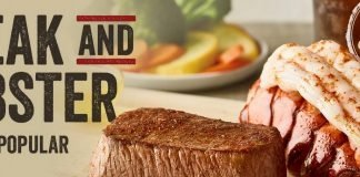 Outback Steak and Lobster offer hero