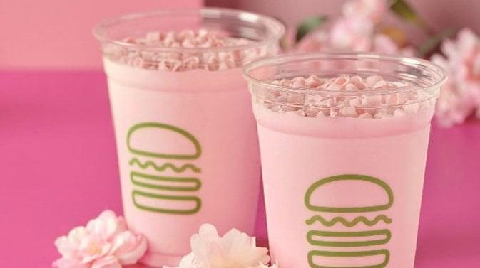 Shake Shack new Cherry Blossom Shake