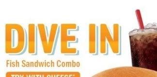 Sonic Drive-In brings Premium Fish Sandwich