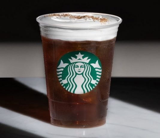 Starbucks Cold Brew with Cascara Cold Foam returns