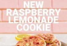 Subway new Raspberry Lemonade Cookie