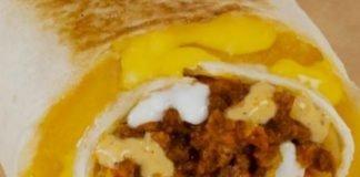 Taco Bell original Quesarito