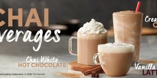Tim Hortons new Chai beverages
