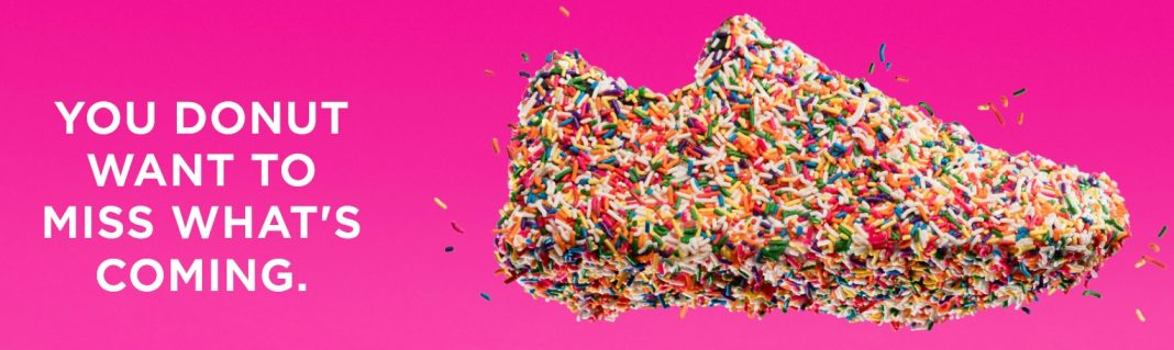 new 2019 Dunkin' Saucony sneakers announcement hero