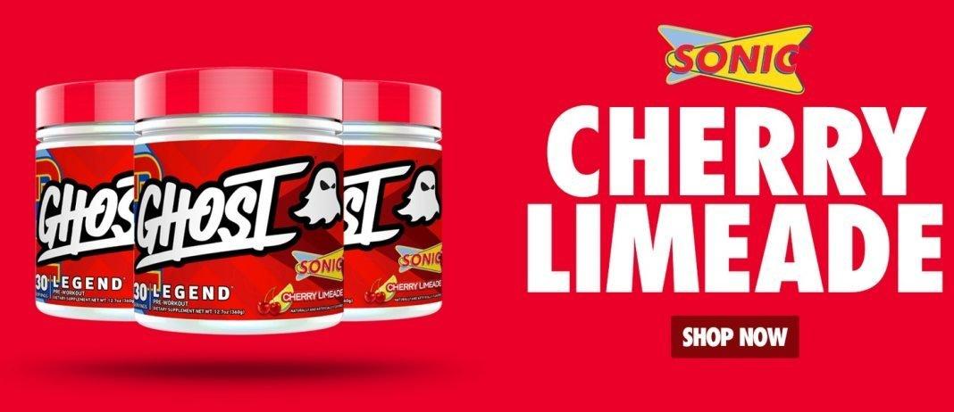 new GHOST Legend x SONIC Cherry Limeade