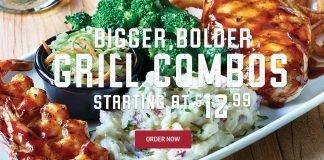 Applebee's new Bigger, Bolder Grill Combos