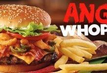 Burger King Angry Whopper hero