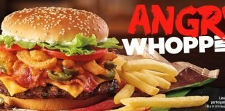 Burger King Angry Whopper hero