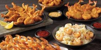 Captain D's Ultimate Shrimp Feast hero