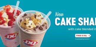 DQ new Cake Shakes hero
