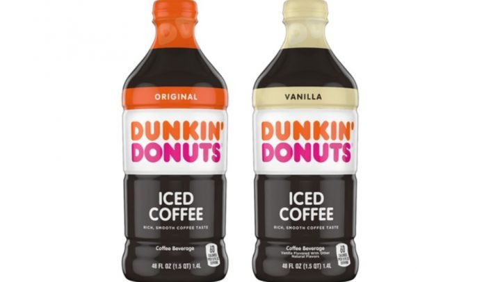 Dunkin' new Multi-Serve Iced Coffee