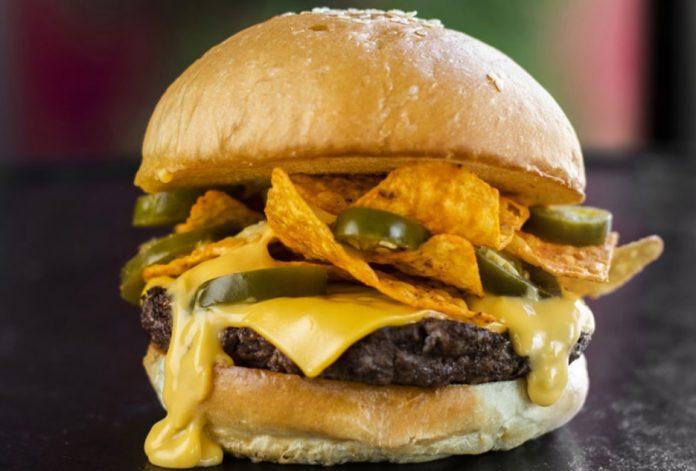 Fuddruckers new Nacho Crunch Burger