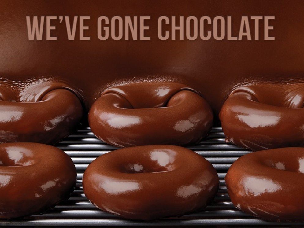 Krispy Kreme Chocolate Glazed Doughnuts return