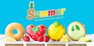 Krispy Kreme new Fruit-Inspired Summer Donut Collection