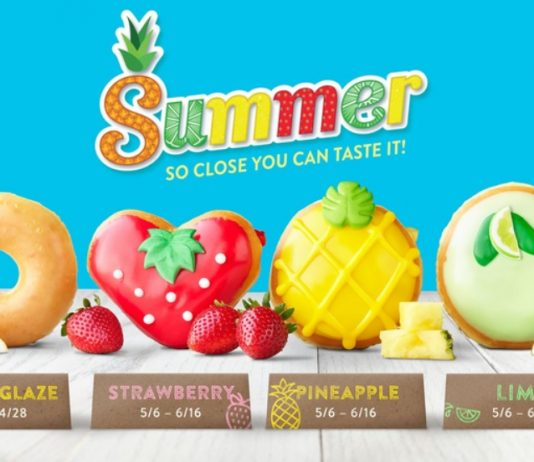 Krispy Kreme new Fruit-Inspired Summer Donut Collection