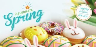 Krispy Kreme new Spring Limited Edition Doughnuts
