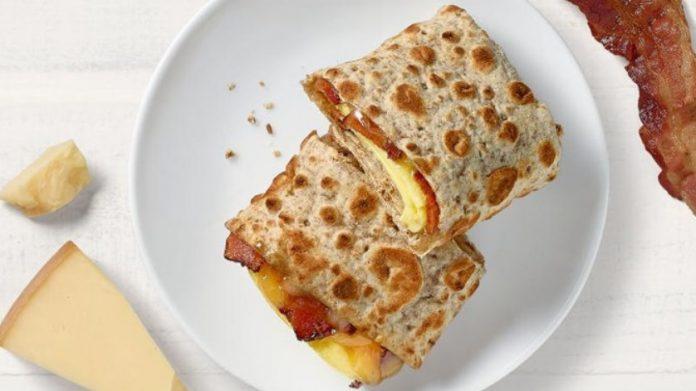 Panera Bread new Whole Grain Breakfast Wraps