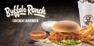 Slim Chickens brand new Buffalo Ranch Chicken Sandwich